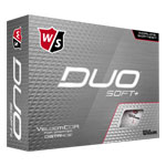 8032 Wilson Staff DUO Soft+ Golf Balls