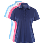 9954 PQ Ladies Heather Technical Polo Shirt