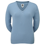 9981 FootJoy Women's Wool Blend V-Neck Pullover