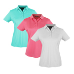 IGLTS-1851 Island Green Ladies Plain Polo