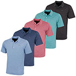 KX83 Greg Norman Subtle Heather Performance Polo (KX83)